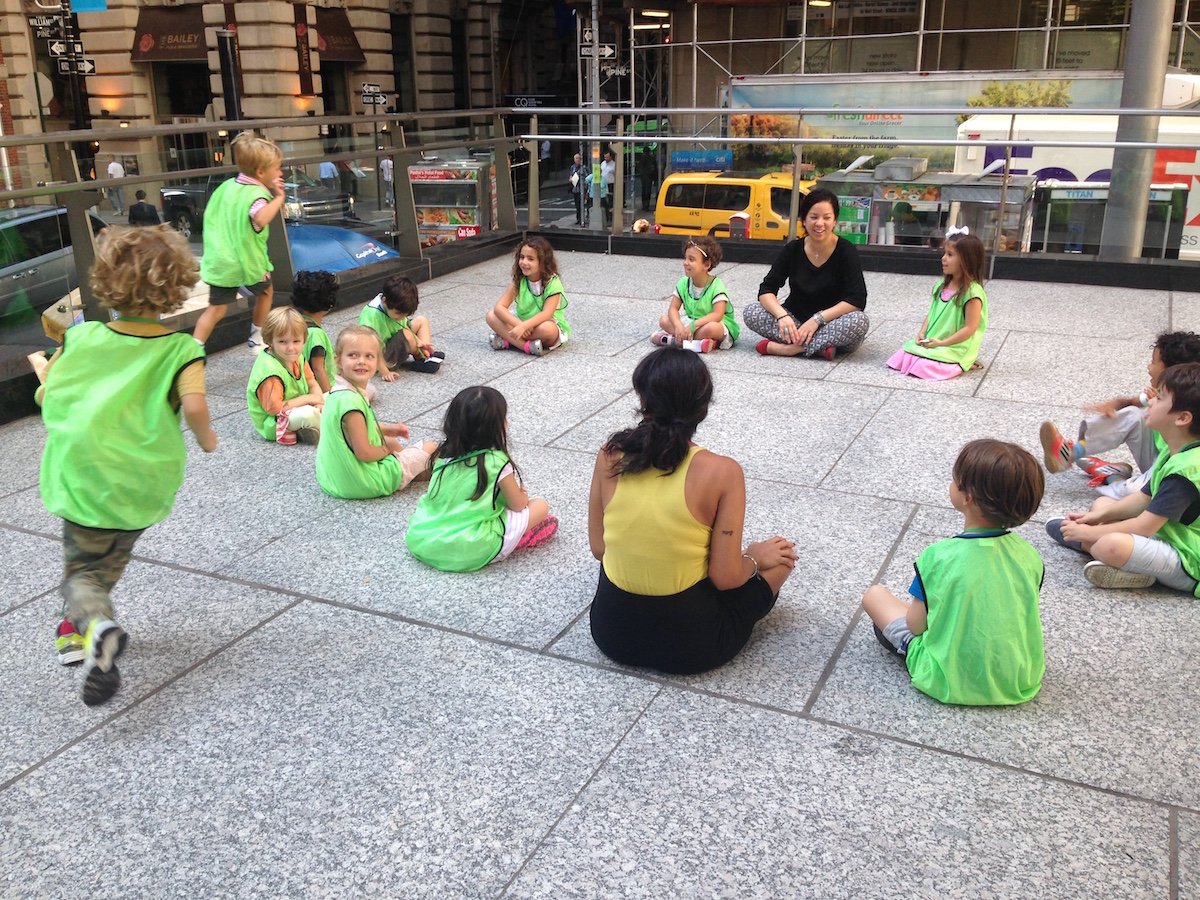 private preschool in fidi