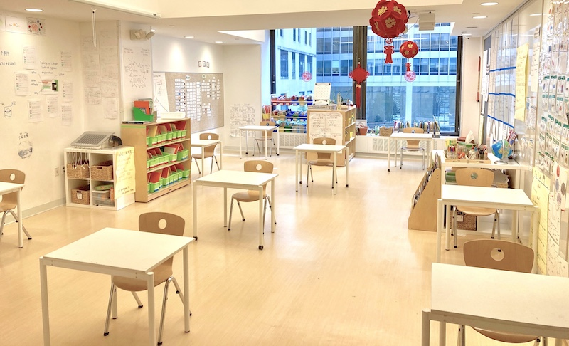 covid reopening NYC classrooms